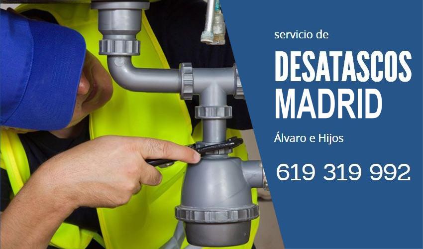 Desatascos urgentes en Madrid
